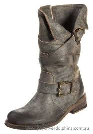 womens bike boots australia boutique womens mustang cowboy biker boots anthrazit from