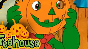 treehouse tv halloween fun franklin pumpkin puzzle for kids spooky