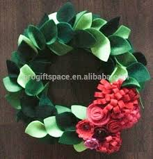 Christmas Ornaments In Bulk by 2017 New Wholesale Hand Door Gift Leaf Ornaments Felt Hang