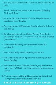 top 10 things to do in forster in the april school holidays