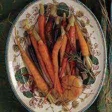 honey glazed carrots with garlic