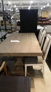 wood rectangular dining table how to protect unfinished wood dining table from restoration hardware