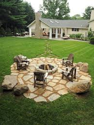 Rock Patio Design How To Build A Rock Patio Outdoor Goods
