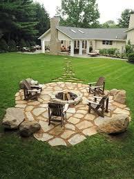 Rock Patio Designs How To Build A Rock Patio Outdoor Goods