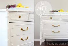 armoire buffet is painted benjamin moore chantilly lace paint