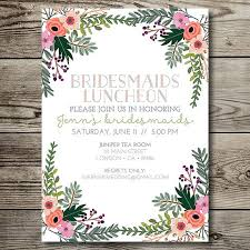 bridesmaid brunch invitations best 25 bridal luncheon invitations ideas on bridesmaid