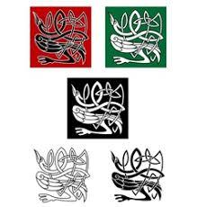 bird tattoo design royalty free vector image vectorstock