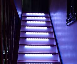 hall and stairs lighting neopixel motion sensor stair lighting