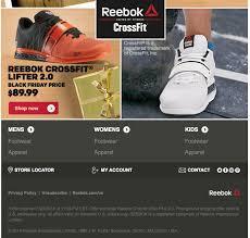 reebok black friday 2017 sale outlet deals cyber week 2017