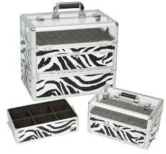 80 00 tiger leopard print cosmetic case w 60 nail polish