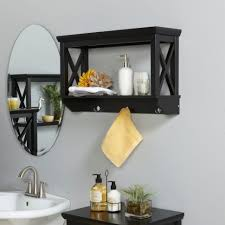 Bathroom Glass Shelves With Towel Bar Bathrooms Design White Shelf With Towel Bar Glass Shelf With