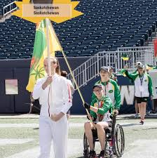 Saskatchewan Flag Para Swimmer Shelby Newkirk Earns Saskatchewan Flag Bearer Role