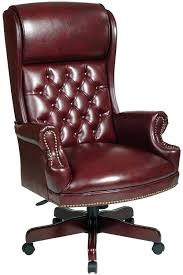 leather executive desk chair flsh bck tufted leather desk chair