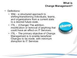 what is chagne made of numara change approval mgmt