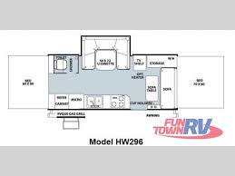 new 2014 forest river rv rockwood high wall series hw296 folding