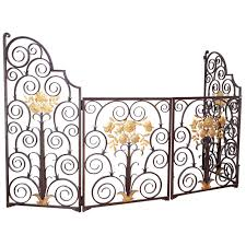 french 1940s wrought iron screen gate for sale at 1stdibs