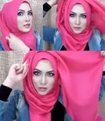 tutorial hijab paris zaskia tutorial hijab simpel bervolume untuk ke kantor 4