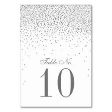 and silver wedding wedding table cards place cards zazzle co uk