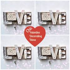 chic valentine u0027s day decorating ideas