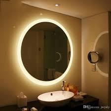 bathroom round mirrors 36 creative illuminated mirror bedroom ideas