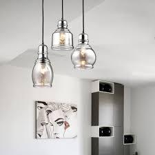 Mariana Lighting Fixtures Clay Alder Home Wilson Antique Black Cognac Glass Cluster 3 Light