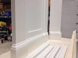 cabinet painting u2013 oxford white on mdf 3 cabinet refinishing