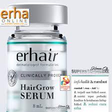 Serum Erha erha erhair hair grow shoo 100 ml update daftar harga terbaru