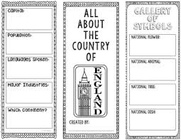 country brochure template research project interactive notebook government