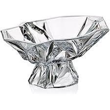 Wedding Gift Kl Amazon Com Bohemia Crystal Large Footed Bowl