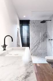 Modern Marble Bathroom Elsternwick House Bathroom Marble Look Tiles Are Fresh And