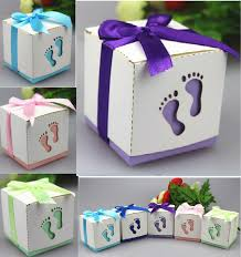 baby shower favor boxes aliexpress buy 50pcs baby birthday party gift candy boxes