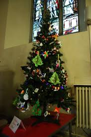 christmas tree festival 2015 st mary u0027s church hadlow
