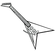 large guitar coloring page guitar coloring page guitar coloring pages electric guitar coloring