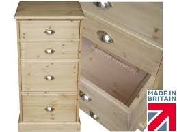 Flat File Cabinet Wood by Solid Pine Filing Cabinet Handcrafted U0026 Waxed 2 Drawer Folio