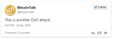 bitcoin forum the bitcoin forum at bitcointalk org went offline due to dos attack