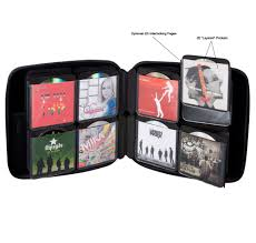 media storage case 160 cd case by slappa