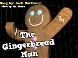 the gingerbread man story and song videos that teach