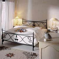 fer forgé chambre coucher decoration chambre avec lit fer forge visuel 8