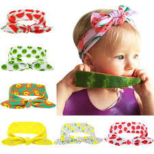fruit headband new kids summer style fruit headband diy cotton elastic hair