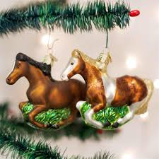 world mustang ornament the carousel