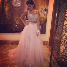 free shipping buy best 2 two pieces prom dresses tulle