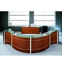 comptoir de bureau comptoir d accueil sinusoïdal reception newform pour votre bureau design