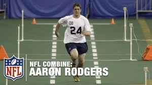 Tom Brady Combine Bench Press Aaron Rodgers U0027 Impressive 40 Yard Dash 4 71 2005 Nfl Combine