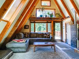 a frame home interiors classic a frame cabin in tranquil setting vrbo