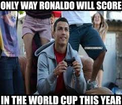 World Cup Memes - soccer memes on twitter ronaldo playing 2014 fifa world cup http