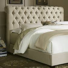 King Fabric Headboard Shop Liberty Furniture Chesterfield King Linen Upholstered