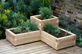 planters marvellous diy wood planters how to make a wooden