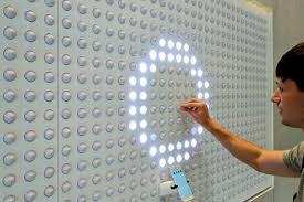 google pixel wall enttec