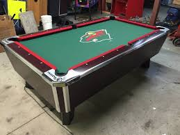 valley zd 8 pool table with minnesota wild pool table cloth fall