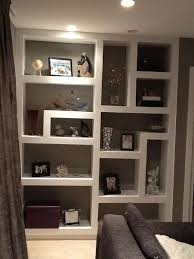 wall shelving ideas magnificent built in wall shelving ideas m11 for home decoration